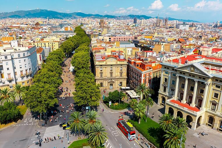 Spain Cities - barcelona - Fested de la Merce