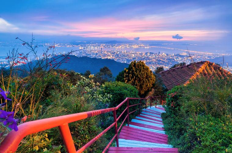 Malaysia, Penang, Penang Hill BLOG