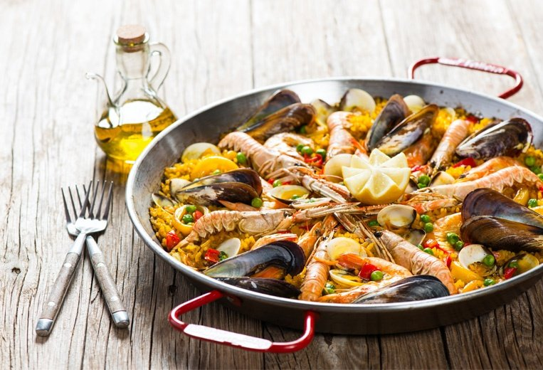 Spanish Cuisine - The Most Popular Foods to Try by Region - Paella