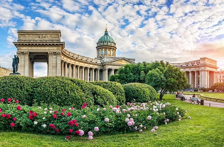 Russia, St. Petersburg, Kazan CathedralBLOG