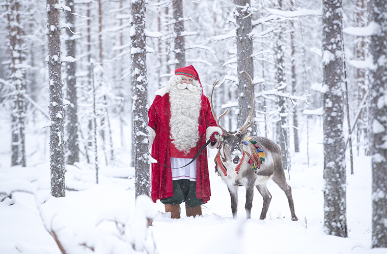 Santa Claus Winter 2018 in Rovaniemi Lapland Finland  (4)BLOG