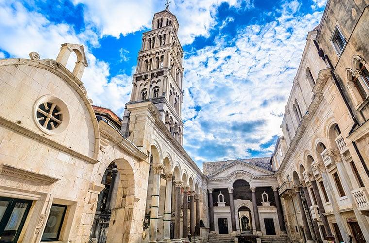 Diocletian Palace Split Croatia Travel