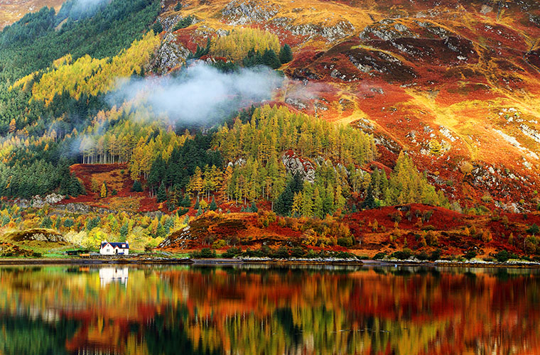 scotland in autumn travel